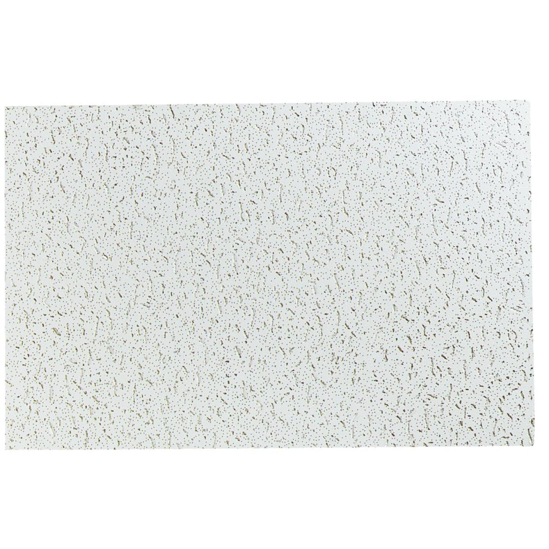Fifth Avenue 2 Ft. x 4 Ft. White Mineral Fiber Square Edge Ceiling Tile (8-Count) Image 2