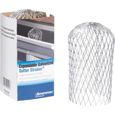 Amerimax Gutter Strainer 3 In. Expanded Galvanized Gutter Guard