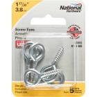National #108 Zinc Medium Screw Eye (5 Ct.) Image 2