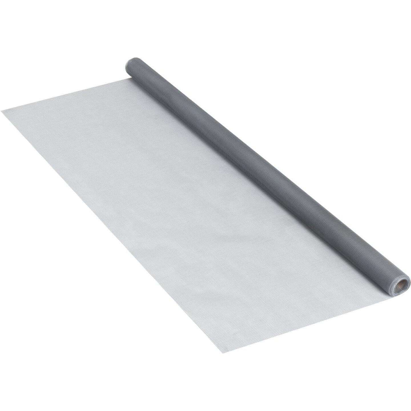 Phifer 30 In. x 84 In. Gray Fiberglass Screen Cloth Ready Rolls Image 2