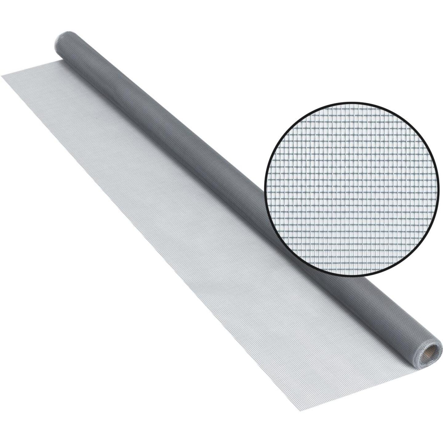 Phifer 48 In. x 84 In. Gray Fiberglass Screen Cloth Ready Rolls Image 1