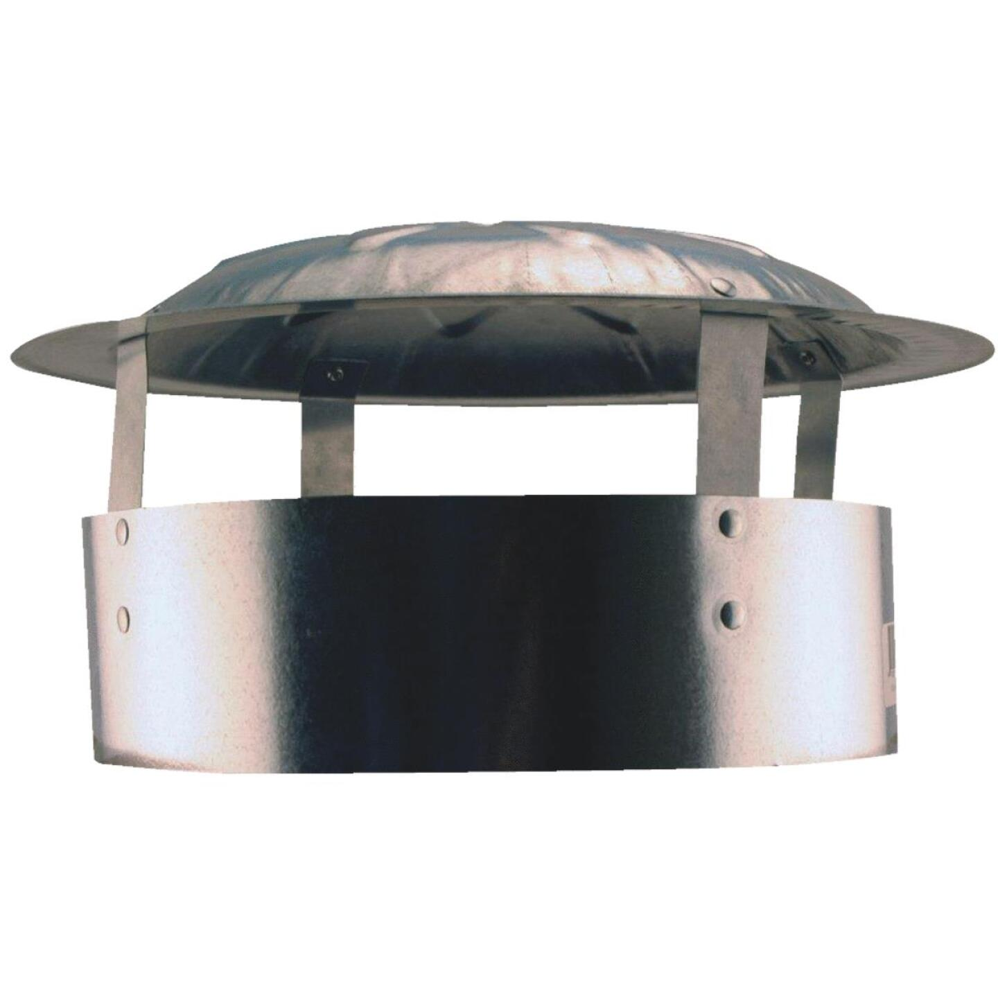 S & K Galvanized Steel 10 In. x 13 In. Vent Pipe Cap Image 1