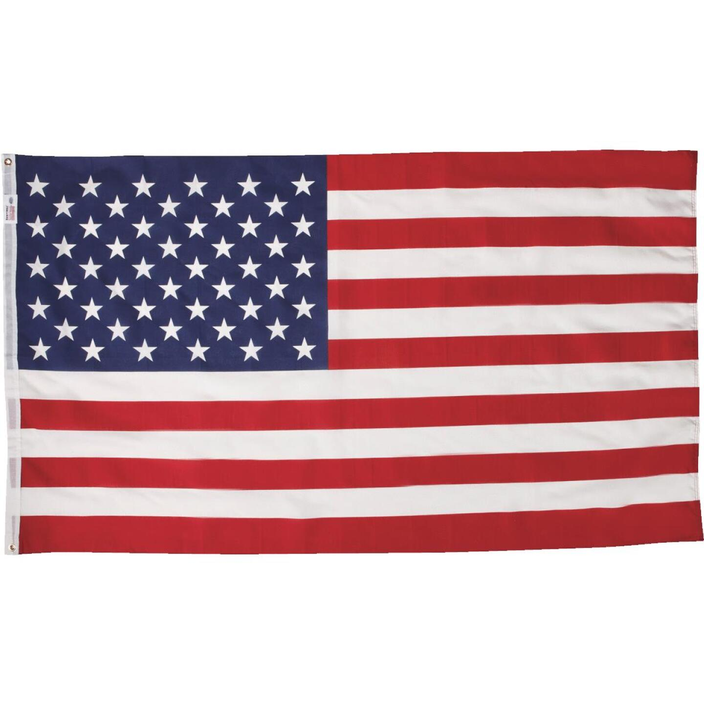 Valley Forge 3 Ft. x 5 Ft. Polycotton American Flag Image 1
